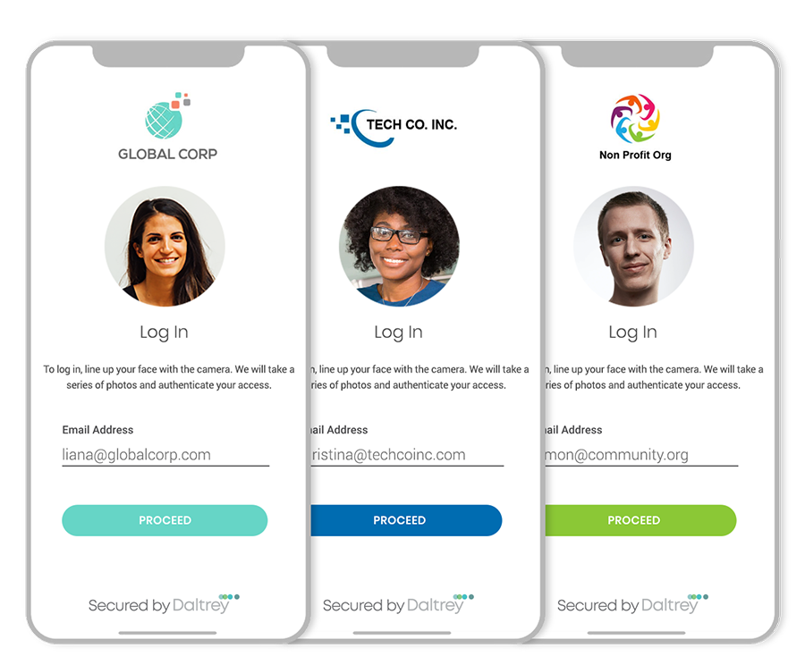 Customised onboarding and branding