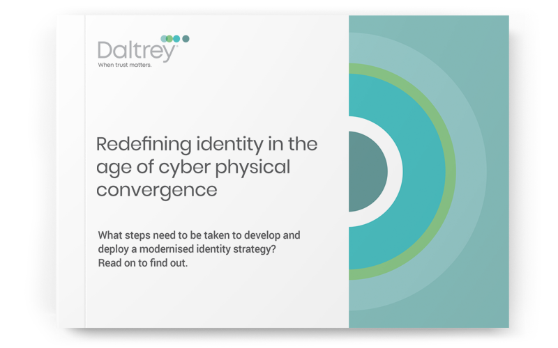 Free Report: Redefining identity in the age of cyber physical convergence